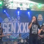 KONSER MUSIK : Nyanyi Dangdut hingga Reggae, Aksi Noe Dkk. di SMAN 3 Solo Bikin Heboh
