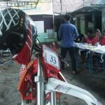 PILKADA BANTUL : TPS 33 Sragan Seperti Basecamp Penyuka Motor Trail
