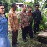 KUNJUNGAN MENTERI :Sidak ke Desa Patemon, Marwan Ja'far Lihat Sumur Serapan