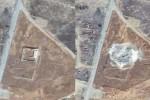 Biara Kuno Saint Elijah sebelum dan sesudah dihancurkan (ABC Online)