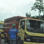 PENAMBANGAN GALIAN C BOYOLALI : Pungutan Marak di Sepanjang Jalur Truk di Selo
