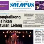 Halaman Depan Harian Umum Solopos edisi Sabtu, 30 Januari 2016