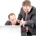 Ilustrasi bos dan pegawainya (Forbes.com)