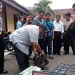 PERAMPOKAN SRAGEN : Polres Sragen Limpahkan 4 Tersangka ke Polres Pati