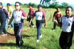 POLRES NGAWI : Kapolres se-Madiun Raya Olahraga di Kebun Teh Jamus, Inilah Kegiatan Mereka…