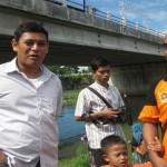 FOTO PENANGGULANGAN BENCANA : Perahu Baru BPBD Dicoba Anak Yatim