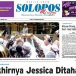 Halaman Depan Harian Umum Solopos edisi Minggu, 31 Januari 2016