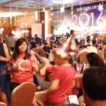 Suasana acara New Year All Generations Party di Aston Madiun, Kota Madiun, Jawa Timur (Jatim), Kamis (31/12/2015) malam. (Irawan Sapto Adhi/JIBI/Madiunpos.com)