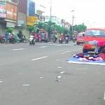 Sampah di area Car Free Day (CFD) Wonogiri (Bayu Jatmiko Adi/JIBI/Solopos)