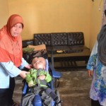 PENYAKIT BERBAHAYA : Haikal Penderita Hydrocephalus Asal Polokarto Butuh Bantuan