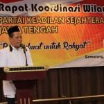 AGENDA PARPOL : Gelar Rakorwil, Ketua DPW PKS Minta Kader Terapkan Budaya Jawa