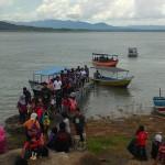 WISATA WONOGIRI : Pengunjung Serbu Wahana Perahu dan Taman Tombo Galau di WGM