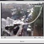 Kondisi kamera CCTV di persimpangan Baron yang dirusak dengan cara ditembak senapan angin. (Mahardini Nur Afifah/JIBI/Solopos)