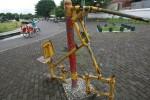 Sarana olahraga di Alun-alun Selatan (Desi Suryanto/JIBI/Harian Jogja)