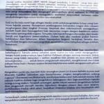 Ini surat yang ditulis Bupati Sragen Agus Fatchur Rahman. (Tri Rahayu/JIBI/Solopos)