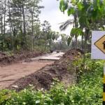 TOL SALATIGA-BOYOLALI : Pelaku Usaha Sambat Akses Jalan Tertutup Fly Over