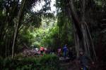 Pemandangan Makam Trunyan, Kintamani, Bangli, Bali dari gerbang masuk (Mediani Dyah Natalia/JIBI/Harian Jogja)