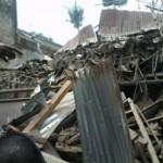 Foto penampakan lokasi kejatuhan pesawat latih di Malang, Rabu (10/2/2016). (Twitter.com/@amaliarawr)