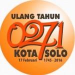 HUT KOTA SOLO : HUT ke-271 Kota Bengawan, Tagar #0271Solo Jadi Trending Topic