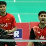 KUALIFIKASI PIALA THOMAS 2016 : Kalahkan Taiwan 3-2, Indonesia Juara Grup C