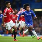 Chelsea vs MU (Twitter)