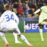 Dynamo Kiev vs Mancheser City (Twitter)