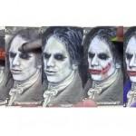 Gambar Alexander Hamilton yang diubah menjadi Joker versi Heath Ledger. (Istimewa/Instagram)
