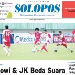 Halaman Depan Harian Umum Solopos edisi Jumat, 5 Februari 2016