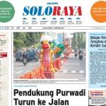 Halaman Soloraya Harian Umum Solopos edisi Selasa, 2 Februari 2016