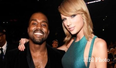 Kanye West dan Taylor Swift (E Online)