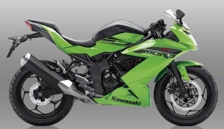 Kawasaki Ninja RR Mono. (Kawasaki-motor.co.id)