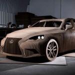INOVASI TEKNOLOGI : Unik, Mobil Lexus Ini Dibikin dari Karton