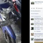 Motor parkir dua tahun di terminal Giwangan. (Facebook.com)