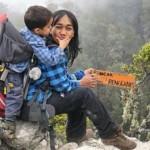 Nyomie dan Max di Puncak Rengganis Argopuro (Instagram.com)