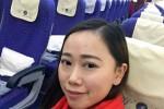 Zhang, penumpang tunggal dalam sebuah pesawat (Weibo)