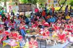 Suasana siswa TK dari DIY yang ikut dalam lomba mewarnai di SD Joannes Bosco Jogja, Sabtu (13/2/2016). (Joko Nugroho/JIBI/Harian Jogja)