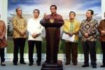 Seskab Pramono Anung menyampaikan keterangan pers usai rapat terbatas, di kantor Presiden, Jakarta, Jumat (5/2/2016) sore. (Setkab)