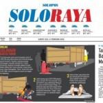Soloraya Hari Ini Edisi Sabtu (6/2/2016)