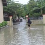 BANJIR SUKOHARJO : 56 Rumah Penduduk di Sukoharjo Terendam Banjir