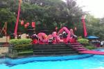 Penampilan Persaudaraan Naga Barongsai Putra Mataram Jogja di Hotel Jayakarta saat perayaan Imlek, Senin (8/2/2016). (JIBI/Harian Jogja/dok. Persaudaraan Naga Barongsai Putra Mataram Jogja)