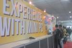 Pengunjung mencoba mini PC di acara Apkom New Year Expo 2016 di Jogja Expo Center (JEC), Bantul, Sabtu (6/2/2016). (Kusnul Isti Qomah/JIBI/Harian Jogja)