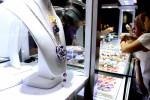 Salah satu perhiasan dari Italia yang dipajang dalam Pameran Emas dan Berlian oleh Semar Nusantara dan Diamond Pavilion di Royal Ambarrukmo Yogyakarta, Sleman, 4-7 Februari 2016. (Kusnul Isti Qomah/JIBI/Harian Jogja)