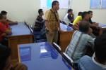 PEMBANGUNAN GEDUNG DPRD : Upah Pekerja Proyek Gedung DPRD Madiun Baru Terbayar Rp60 Juta