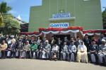 Grand Syekh Al-azhar Kairo Mesir, Prof. Ahamd Muhammad El Tayyeb saat membuka peringatan 90 tahun Pondok Modern Darussalam Gontor, Kamis (25/2/2016). (unida.gontor.ac.id)