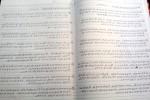 Aksara alam gaib yang ditulis Paidi. (Abdul Jalil/JIBI/Madiunpos.com)