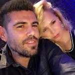 Victor Valdes dan Yolanda Cardona (dailymail.co.uk)