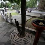 FASILITAS PUBLIK SOLO : Ini Kerusakan Fasilitas Umum di Stadion Sriwedari