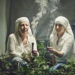 Biarawati The Sister menanam ganja untuk pengobatan. (Istimewa)