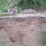 LONGSOR BOYOLALI : 2 Jembatan Di Wonodoyo Cepogo Putus