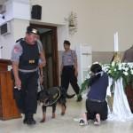 PASKAH SOLO : Ratusan Polisi dan TNI Jaga 82 Gereja di Solo